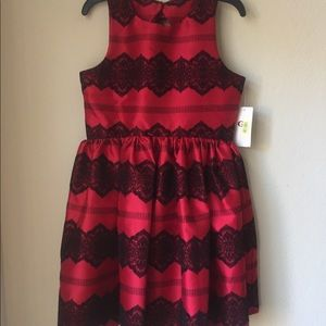 Brand new with tags! Holiday Dress  girls Size 14
